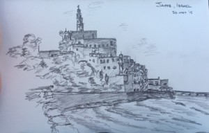 Jaffa, Israel - Pencil on Paper