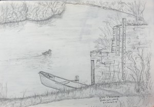 Ross-on-wye - Pencil on Paper