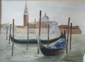 Venice - Oil on paper